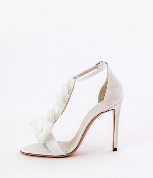 White Strap Heels Wedding Shoes Alessandra Rinaudo 11 bmodish