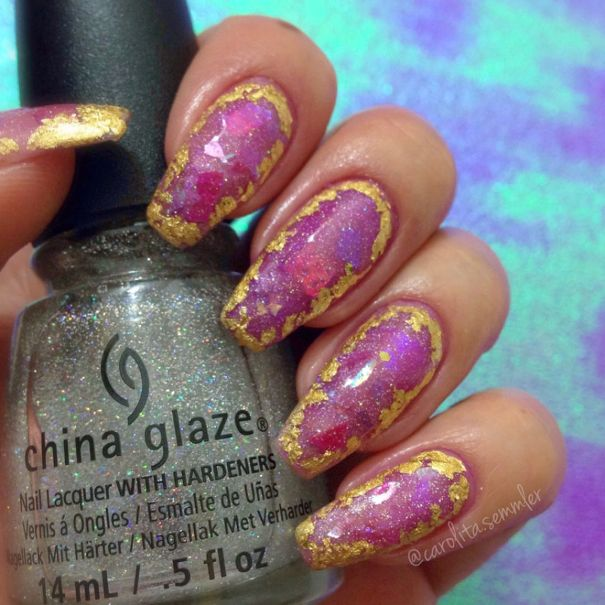 gemstone nail designs