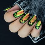sunset mirror nail design bmodish