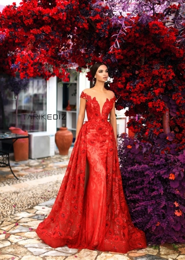 tarik ediz 2019 evening dress 1 bmodish