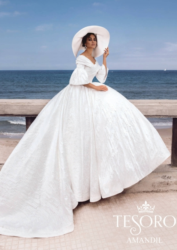Amandil tesoro 2019 wedding dresses collection 1 bmodish