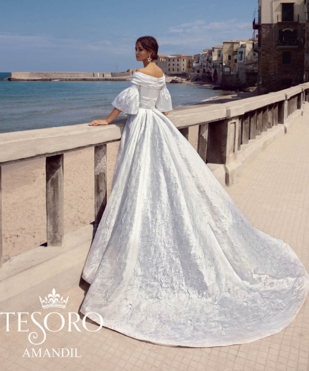 Amandil tesoro 2019 wedding dresses collection 2 bmodish 2