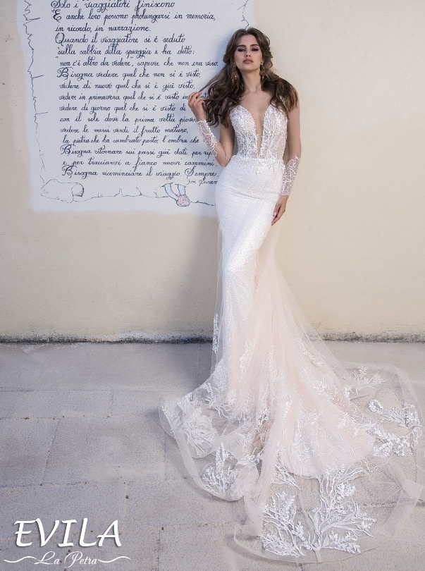 LaPetra 2019 evila wedding dress 1 bmodish