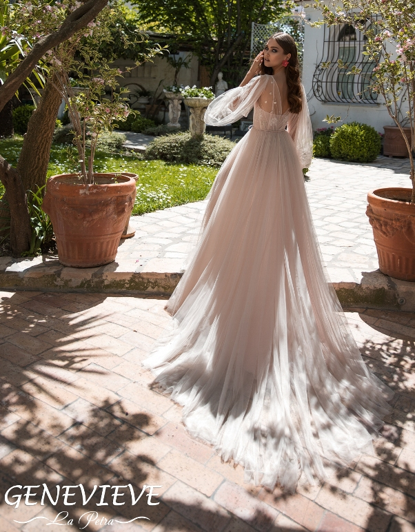 LaPetra 2019 genevieve wedding dress 1 bmodish