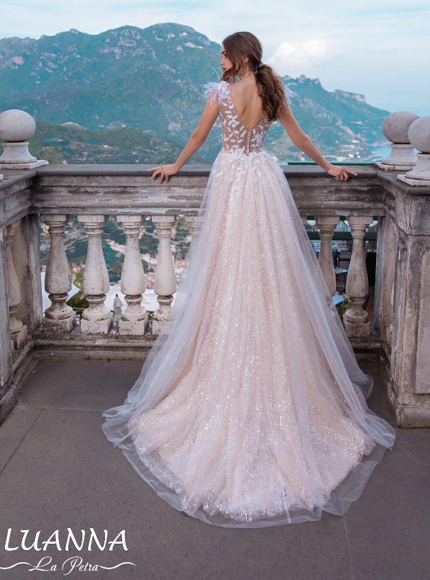 LaPetra 2019 luanna wedding dress 2 bmodish