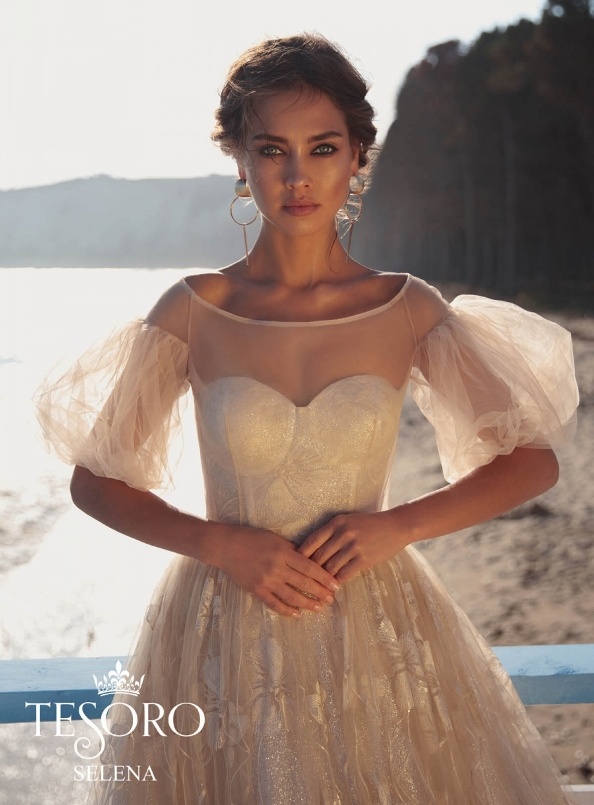 Selena-bolero tesoro wedding dress collection 1 bmodish