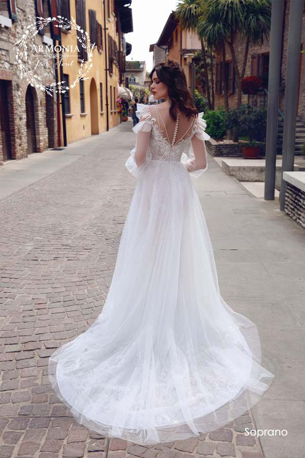 Soprano armonia 2019 wedding dress 2 bmodish